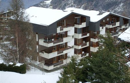 Wintersport appartement Zwitserland