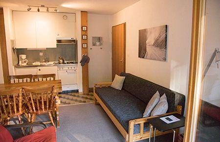 4 Persoons Design Bank.Appartement Zwitserland Appartement Skigebied Tzoumaz 4